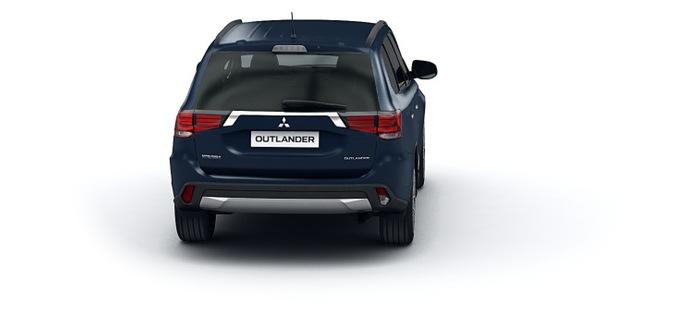 Mitsubishi Обновленный Outlander 2.0 CVT 4WD (146 л.с.) Intense+ 4WD